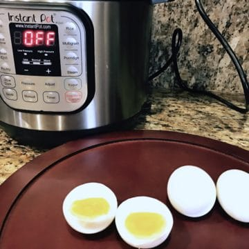 Perfect Boiled Eggs – Instant Pot