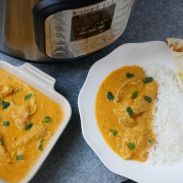 Pressure Cooker Instant Pot Butter Chicken