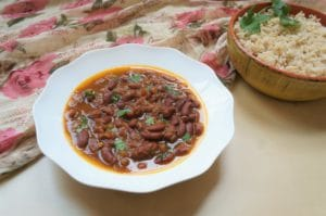 Rajma Masala Instant Pot Pressure Cooker Red Beans Curry