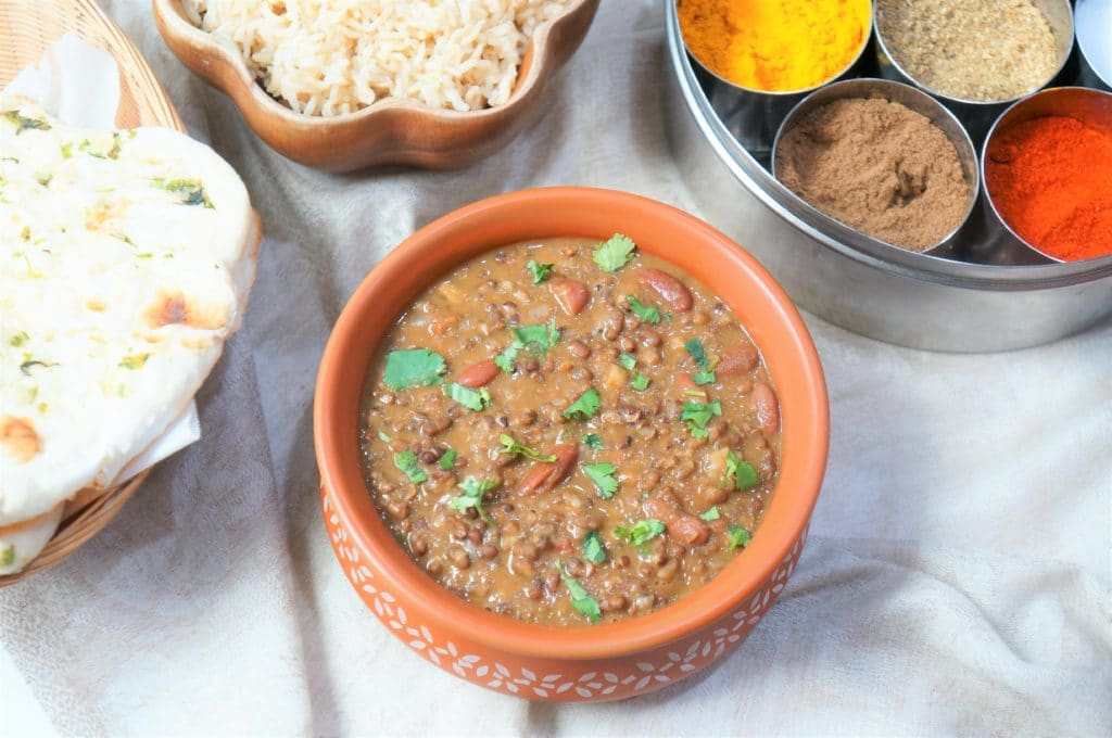 Instant Pot Dal Makhani With Rice Madras Lentils Piping Pot Curry
