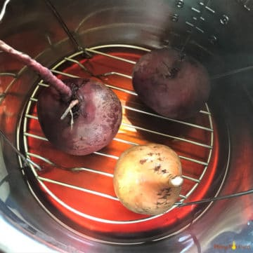 How to Cook Beets in a Pressure Cooker?
