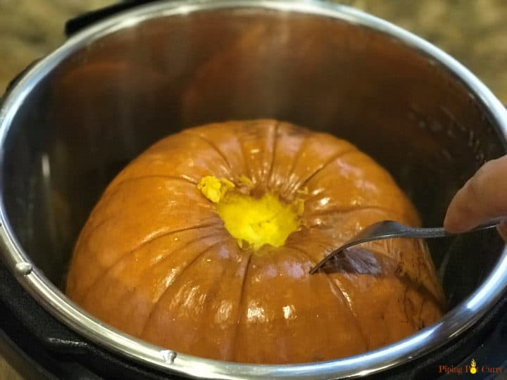 Instant Pot Pumpkin Puree - Pumpkin Cooked
