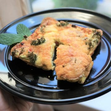 Easy Frittata – Air Fryer