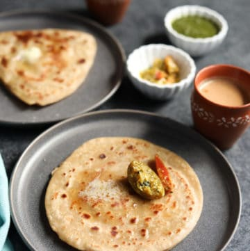 Paratha Recipe (Pan-fried Indian flatbread)